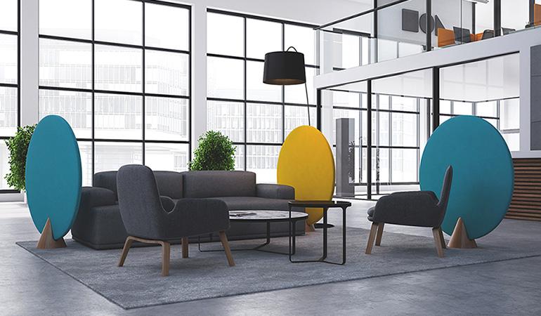 Kuidas tagada avatud kontoris head akustikat?