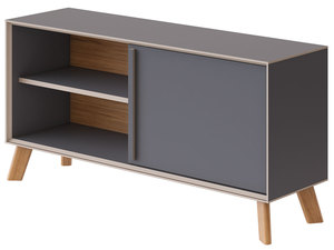 SANDISS BOOKCASE LOW